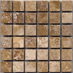TRAVERTINE NOCE 5/8X5/8