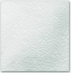 CRACKLE GLAZE WHITE 6X6
