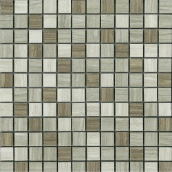 DRIFTWOOD GREY MIX 1X1 MOSAIC