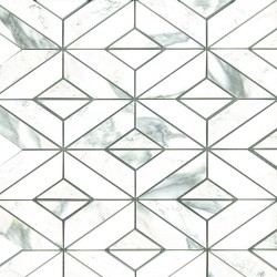 ARABESCATO DIAMOND MOSAIC