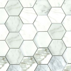 "CALACATA GOLD 3"" HEX"