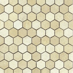 "GOLDEN SAND 1"" HEX"