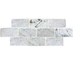 TUMBLED CARRARA 3X6