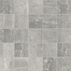 CONCRETE GREY 2X2 MOSAIC